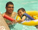 Open Swim is great for families!