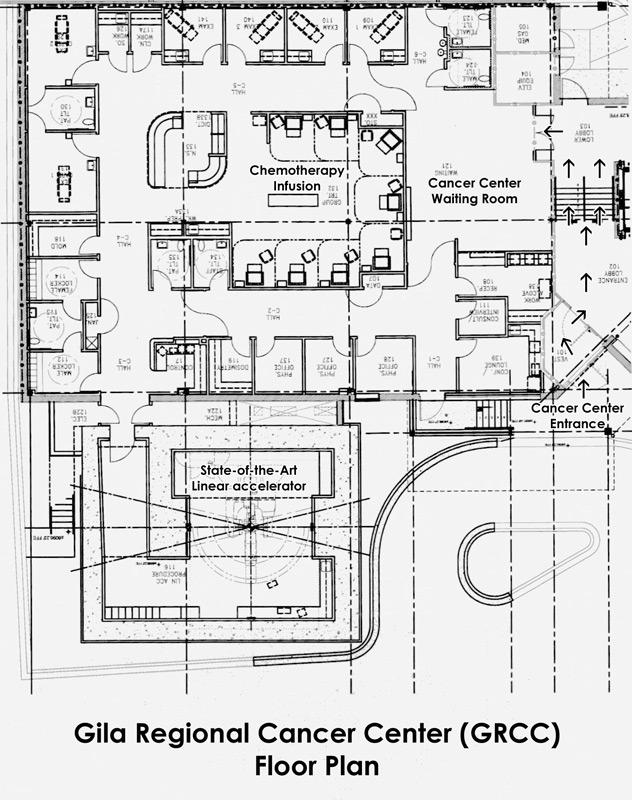 Endoscopy Room Floor Plan: Gila Regional Medical Center
